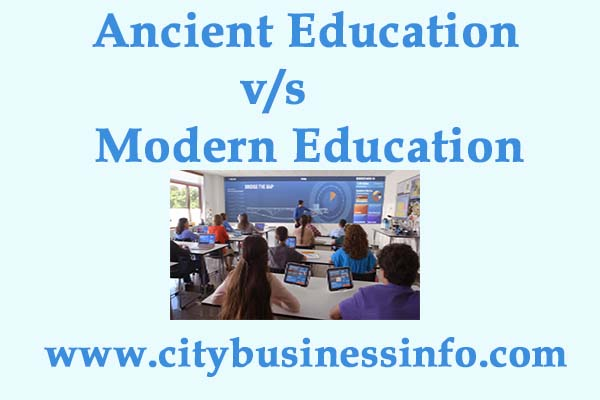 contrast and comparison between modern education and old eduction Compare and contrast colonial education from traditional education  process in which the older generation  with what is known as modern education or.